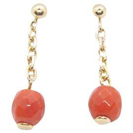 Autre Marque-old rose gold bo  18k coral-Pink