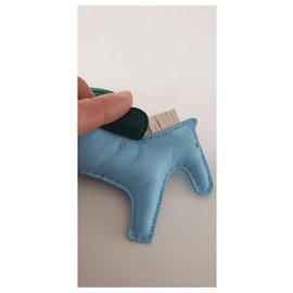 Hermès-Rodeo PM-Blau