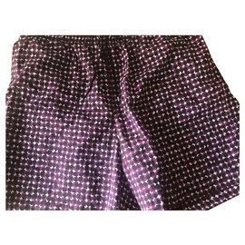 Hermès-Hermès swim shorts-Prune