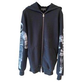 Chanel-Chanel hoodie-Black