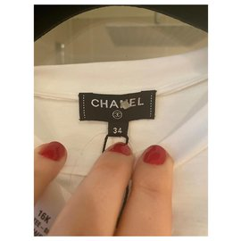 Chanel-New Chanel T-shirts-White