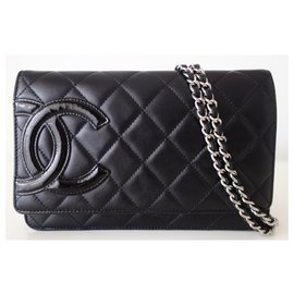Chanel-Wallet on chain Chanel Cambon-Black