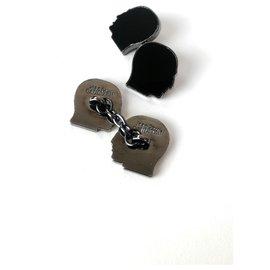 Jean Paul Gaultier-Cufflinks-Black