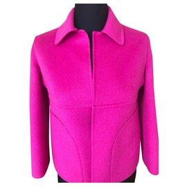 Michael Kors-first line coat-Fuschia