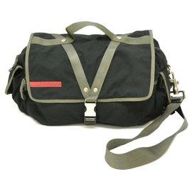 Prada-Prada messenger bag-Black