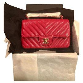 Chanel-Mini rectangular-Red