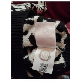 Moncler-MAGLIONE MONCLER NUOVO-Black,White