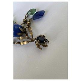 Gucci-Boucle d'oreille mono-Bleu foncé