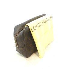Louis Vuitton-TROUSSE DE TOILETTE 28 MONOGRAM-Marron