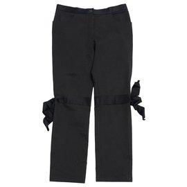 Chanel-BLACK RIBBON FR42/44-Black