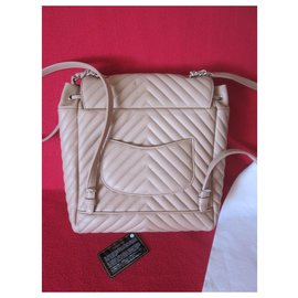 Chanel-Urban Spirit Backpack-Beige