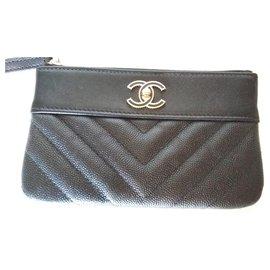Chanel-Mini pochette classique Chanel. 2019.-Noir