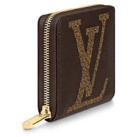 Louis Vuitton-LV zippy coin new-Marron