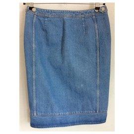 Acne-Denim skirt-Blue