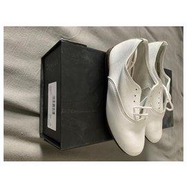 Autre Marque-Chaussures repetto modèle zizi-Blanc