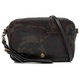 Mulberry-Mulberry Brown Camouflage Leather Crossbody Bag-Brown,Multiple colors,Dark brown