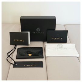 Versace-Wallets Small accessories-Black