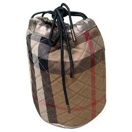 Burberry-Clutch bags-Dark brown