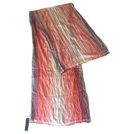 Giorgio Armani-GIORGIO ARMANI crumpled scarf-Multiple colors