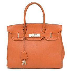 Hermès-HERMES BIRKIN-Orange