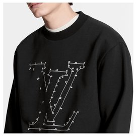 Louis Vuitton-LV jumper new-Black