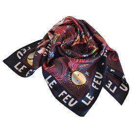 Dior-FOULARD DIOR SOIE-Multicolore