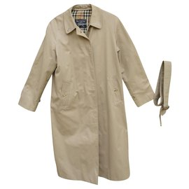 Burberry-Burberry woman raincoat vintage t 42 State like new-Beige