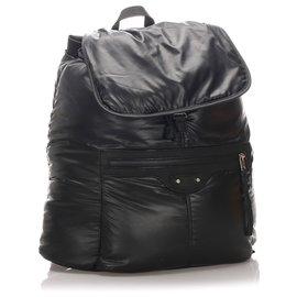 Balenciaga-Balenciaga Black Traveler S Backpack-Black