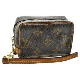 Louis Vuitton-Pochette Louis Vuitton Trousse Wapity-Marron