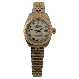 Rolex-DateJust Lady-Blanc