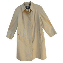 Burberry-Burberry woman raincoat vintage seventies t 40-Beige