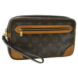 Louis Vuitton-Louis Vuitton Marly Dragonne-Marron