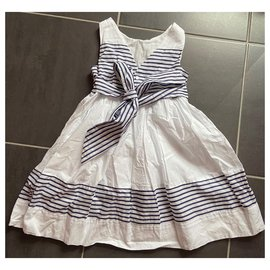 Jacadi-Robes-Blanc