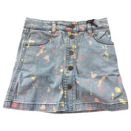 Stella Mc Cartney-Skirts-Blue