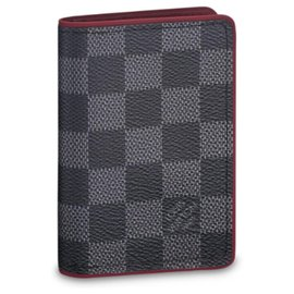 Louis Vuitton-pocket organiser mens wallet LV-Grey