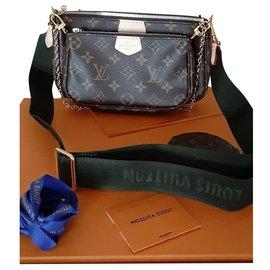 Louis Vuitton-Louis Vuitton Multipochette Accessoires Kaki-Braun