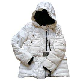 Moncler-Fur hood-Cream