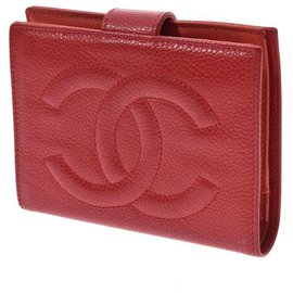 Chanel-Chanel Sword wallet-Red