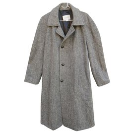 Autre Marque-man coat in Harris Tweed t 52-Grey