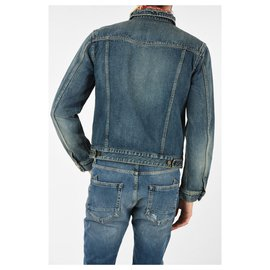 Saint Laurent-Saint Laurent denim jacket-Blue