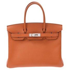 Hermès-HERMES BIRKIN 30-Orange