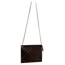 Louis Vuitton-Pochette 26-Marron