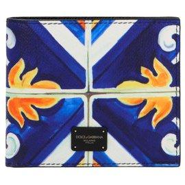 Dolce & Gabbana-Dolce & gabbana 'Maioliche' wallet-Multiple colors