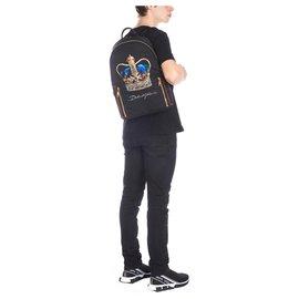 Dolce & Gabbana-Dolce e Gabbana backpack new-Black