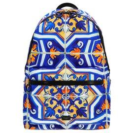 Dolce & Gabbana-Dolce & gabbana 'Maioliche' backpack-Multiple colors