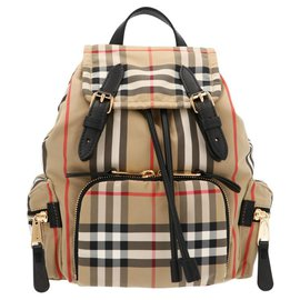 Burberry-Burberry 'The rucksack' small backpack-Brown