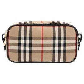 Burberry-Burberry 'Camera' micro crossbody bag-Brown