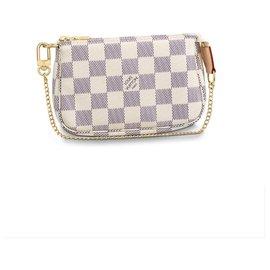 Louis Vuitton-Mini Pochette Zubehör-Beige