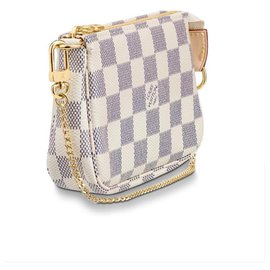 Louis Vuitton-Acessórios mini pochette-Bege