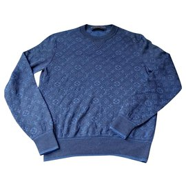 Louis Vuitton-Sweaters-Navy blue